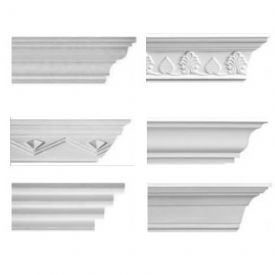 Medium Plaster Coving Sample Pack - 6 Medium Plaster Coving Samples